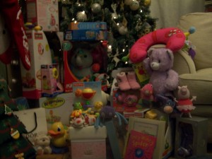 Happy First Christmas Isabelle!