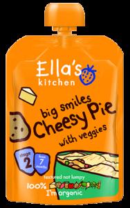Review – Ellas Kitchen – Cheesy Pie (Stage 2)