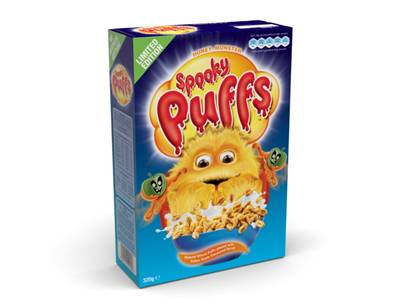 Review – Honey Monster Spooky Puffs