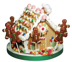 A very festive Gingerbread House