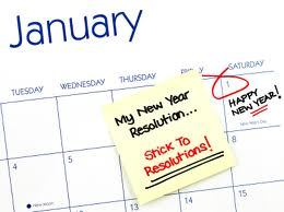 Time to start thinking about News Years Resolutions