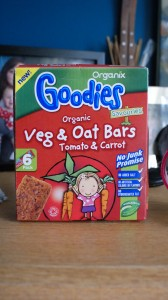 Organix Goodies Veg & Oat Bars Review