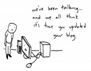 Why I started blogging