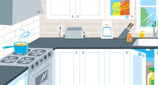 Childproof your kitchen