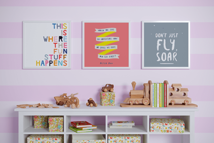Creating a Kids' Playroom