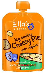 Review – Ellas Kitchen – Cheesy Pie (Stage 2)