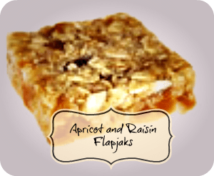 Apricot and Raisin Flapjaks