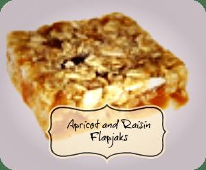 Apricot and Raisin Flapjaks