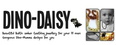 Review – Dino Daisy Amber Teething Necklace