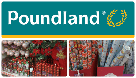 Christmas with Poundland