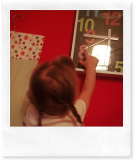 Learning to tell the time