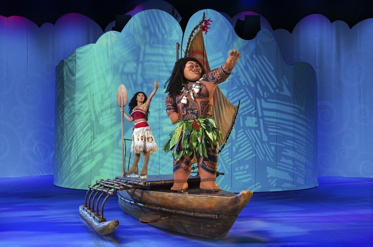 Disney on Ice Dream Big Introduces Moana