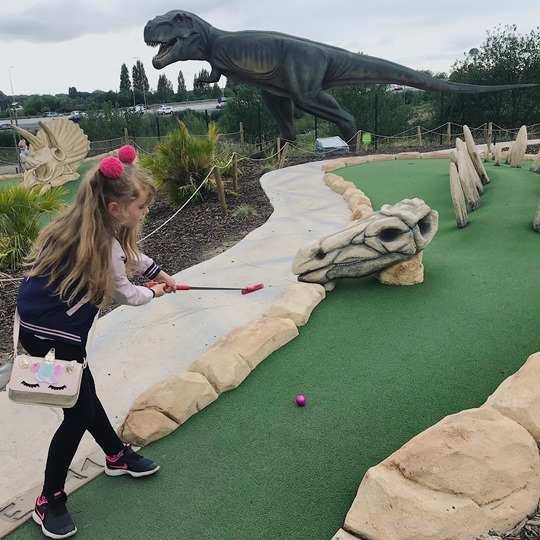 Dino Falls Adventure Golf (Trafford)